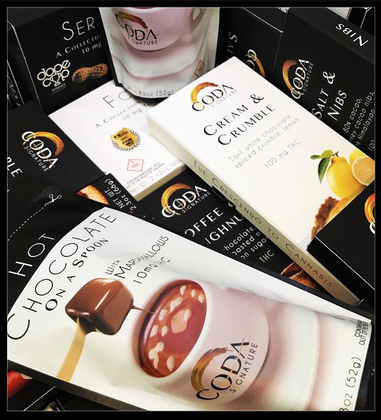 Coda Signature crafts premium cannabis-infused edibles, topicals and concentrates for medicinal and adult-use.