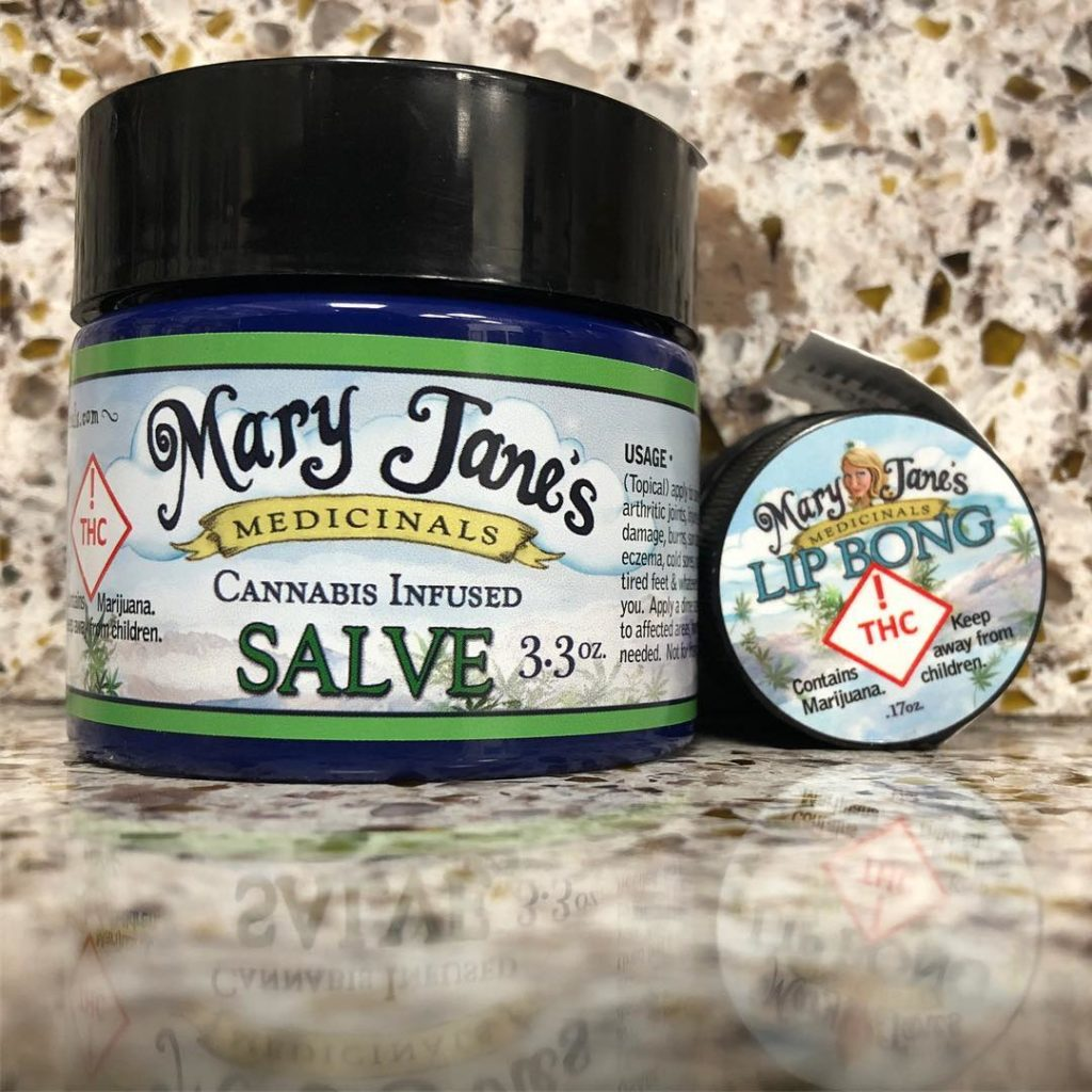 Salve and the Lip Bong - Mary Janes's