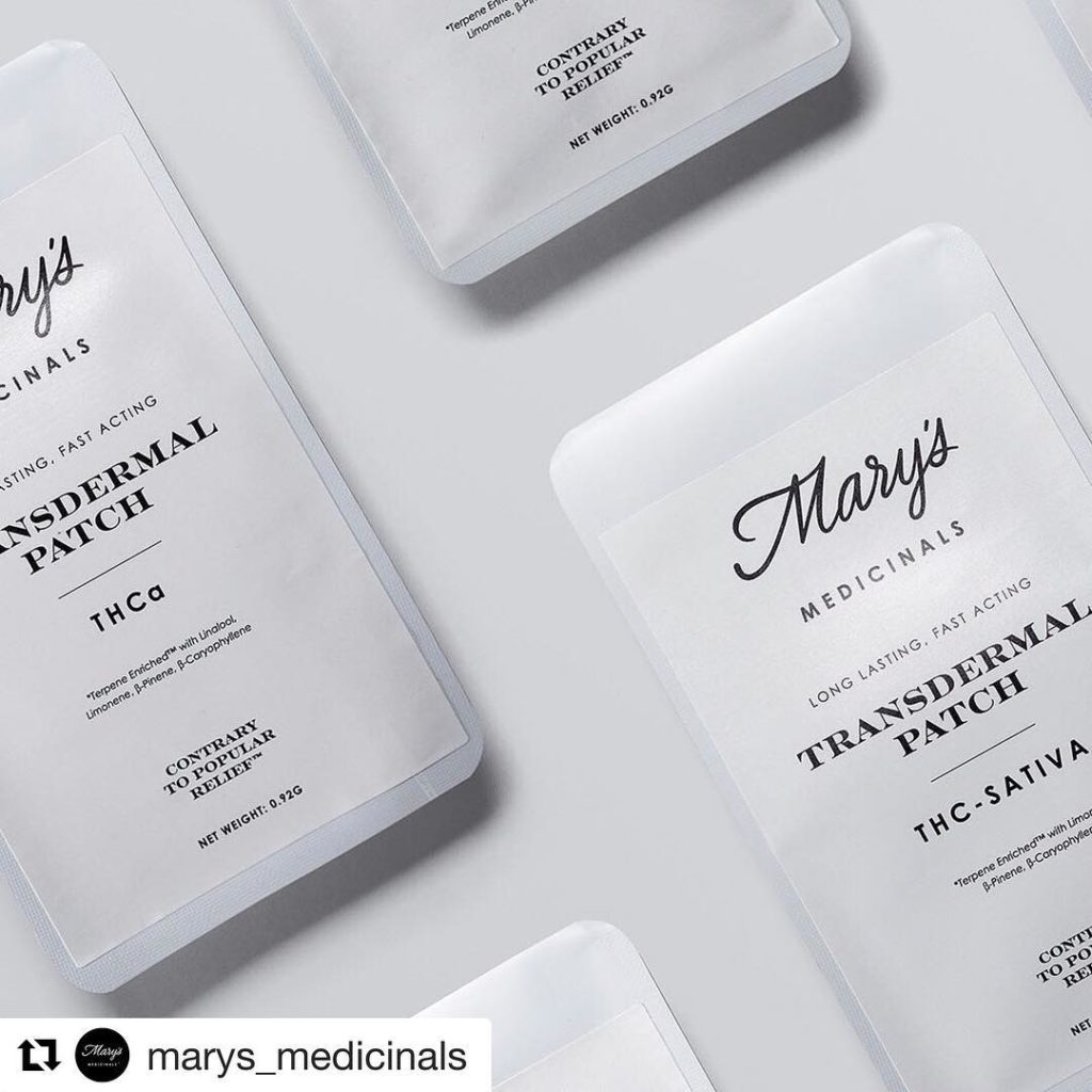 Transdermal Patch -mary's medicinals