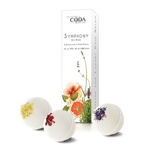 coda signature bath bombs