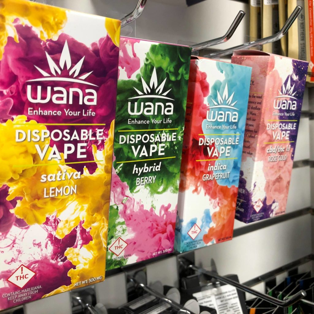 Wana Disposable Flavored Vape