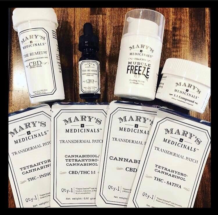 mary's medicinals products